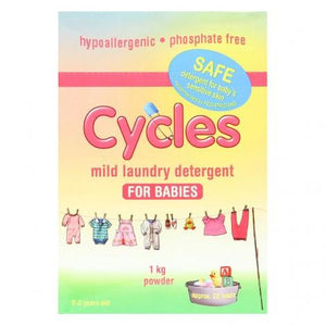 Cycles Sensitive Powered Detergent 1kg