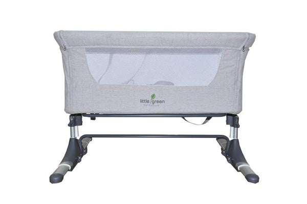 Little Green Baby Mini Bed - Gray