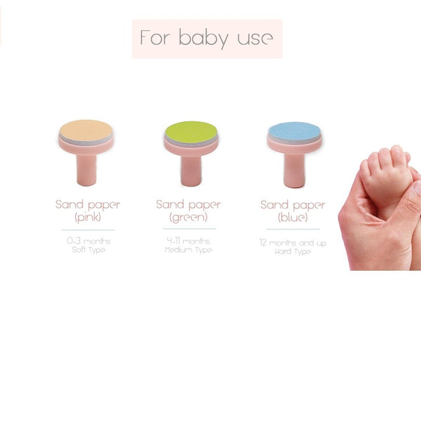 Combi Baby Label: Nail Trimmer Replacement Attachments
