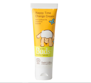 Buds Baby Organics Nappy Time Change Cream 75ml