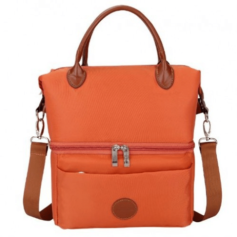 V-Coool Cooler Bag City Style - Orange Premium Material