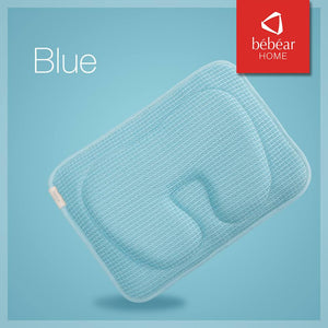 Bebear Adjustable 3D Mesh Pillow - Blue