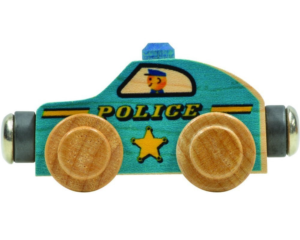 Maple Landmark Name Train Police Car