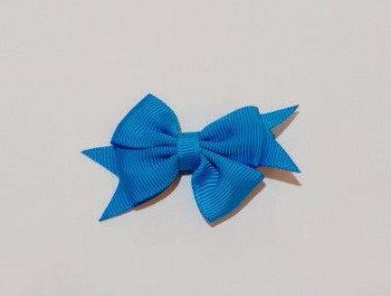 Celestina & Co. Petite Signature Bow Aegean Blue