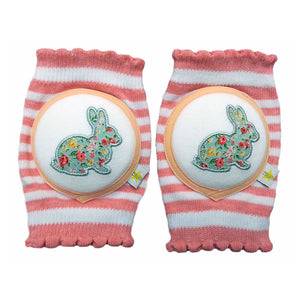 Crawlings Cherry Pink Rabbit Knee Pads