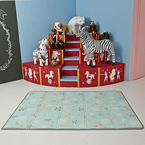 Funnylon 140 Folding Playmat - Rabbit & Turtle