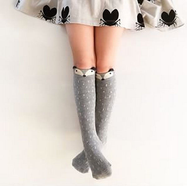 Mini Dressing Raccoon Knee Socks
