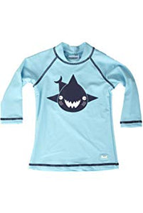 Banz Baby Long Sleeve Rash Top - Shark Turquoise