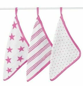 Aden+Anais Wash Cloth Set - 3 pack
