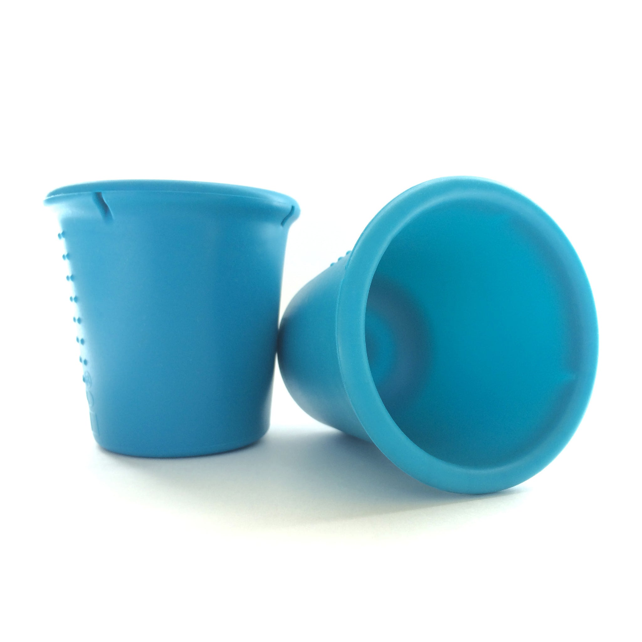 Siliskin Cups 2 pack set (Teal/Storm)