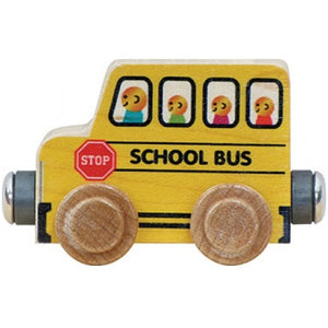 Maple Landmark Name Train School Bus