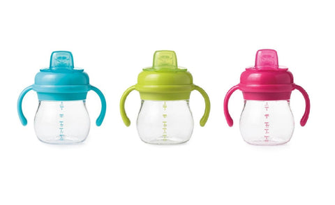 Oxo Tot Grow Soft Spout Sippy Cup w/ Removable Handle 6oz