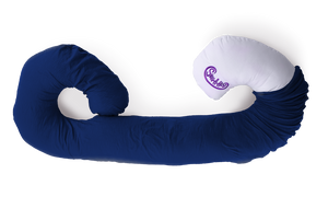 Snug A Hug Body Pillow Plain - Midnight Blue