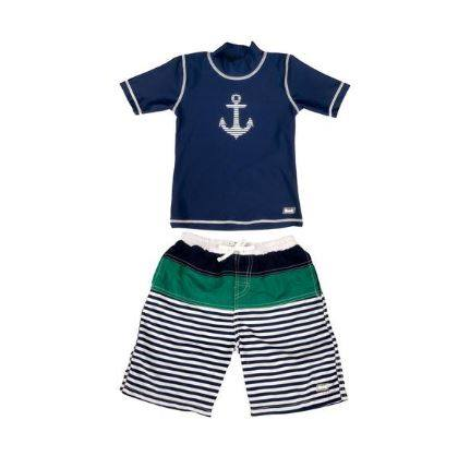 Banz Baby 2-piece Short Sleeve - Anchor