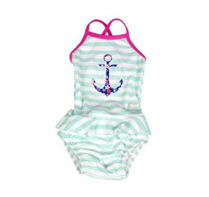 Banz Kids Swimsuit with Frill
