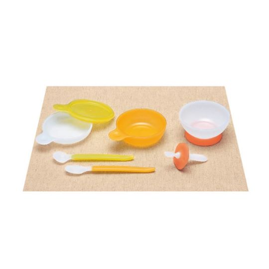Combi Baby Label: Tableware Step 1