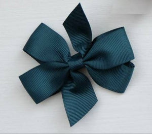 Celestina & Co. Medium Signature Bows Teal