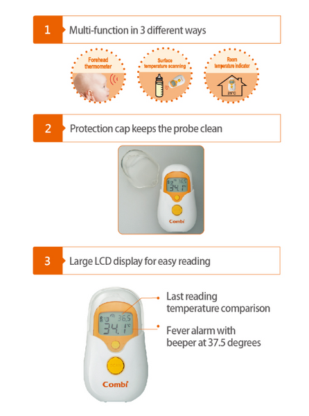 Combi Non-Contact Forehead Thermometer