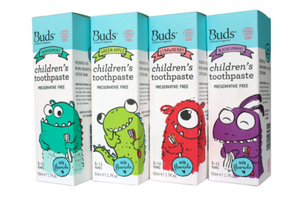 Buds Baby Organics Children's Toothpaste With Fluoride 50ml