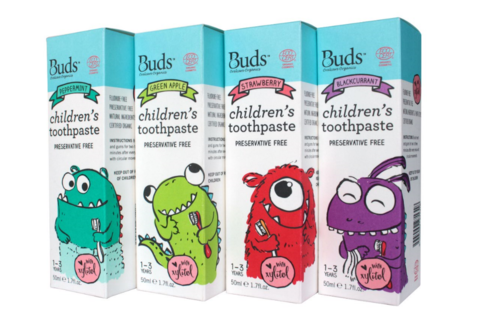 Buds Baby Organics Children's Toothpaste With Xylitol 50ml