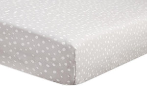 Babyletto Tuxedo Fitted Crib Sheet - Dots