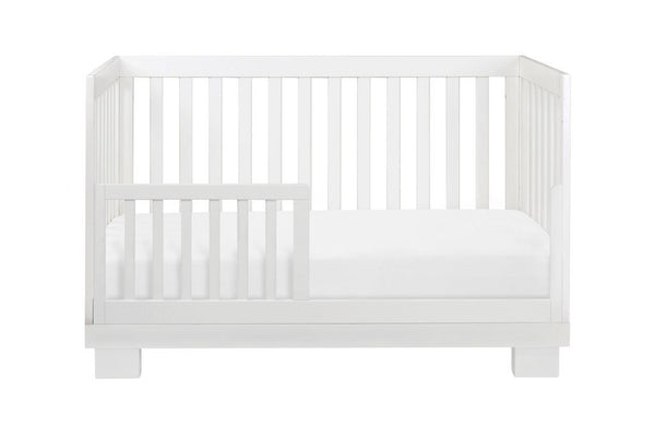 Babyletto Modo 3-in-1 Convertible Crib with Toddler Bed Conversion Kit - White