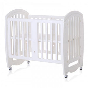 Cuddlebug Ashley 2in1 Mini Crib - White