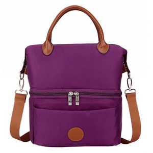 V-Coool Cooler Bag City Style - Violet Premium Material