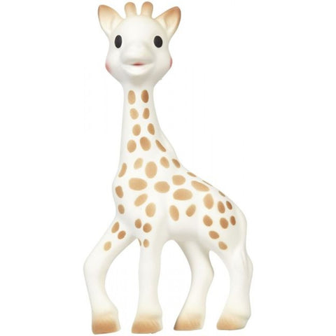 Sophie le Giraffe in Natural Rubber
