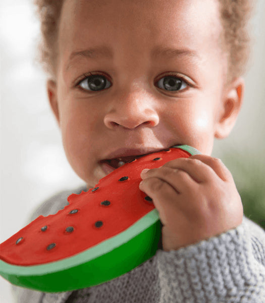 Oli & Carol Fruits and Veggies Teether - Wally the Watermelon