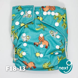 Next9 Cloth Diaper Wild Animals