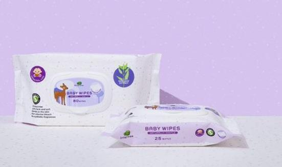 Little Tree Baby Wipes for General Use
