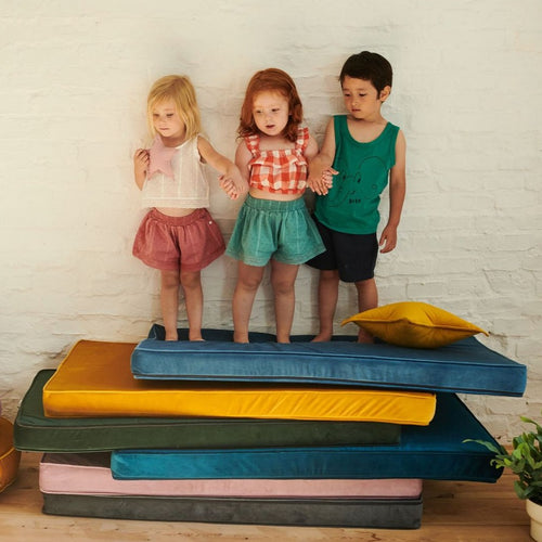 Velvet Mattress/Playmat - All colours