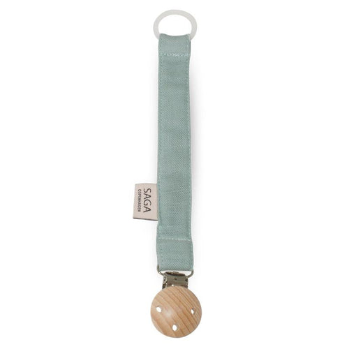 Pacifier Clip - Dusty Green