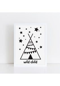 nursery print wall art