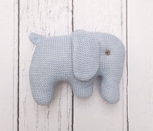 Knitted Organic Elephant Toy