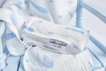 XL Swaddle - Feather Blue