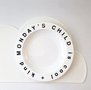 Monday's Child Plate