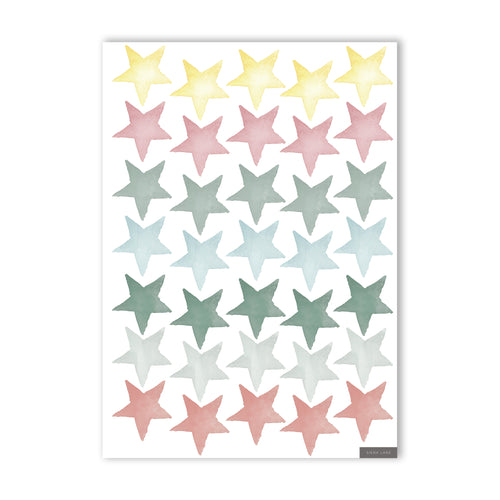 Stars Wall Stickers - Mixed