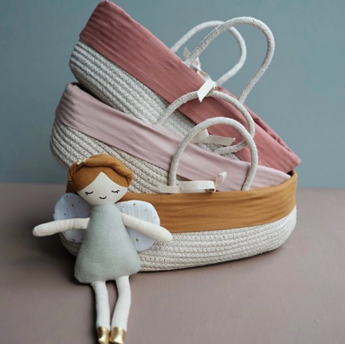 Doll Basket - Ochre