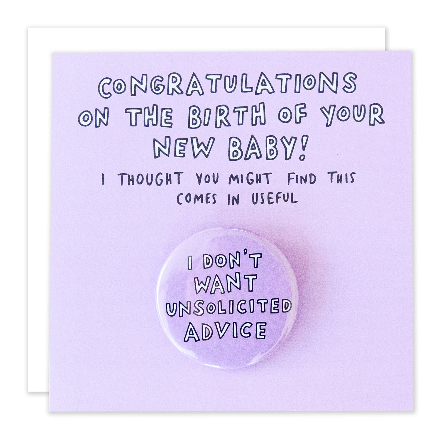 New Baby Card by Veronica Dearly