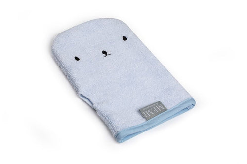 Bamboo Wash Glove Baby Blue