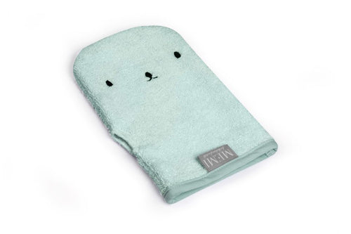 Bamboo Wash Glove Dusty Mint