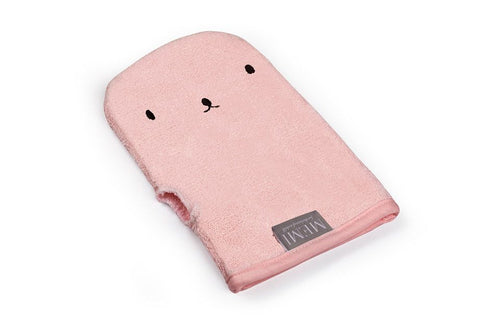 Bamboo Wash Glove Powder Pink
