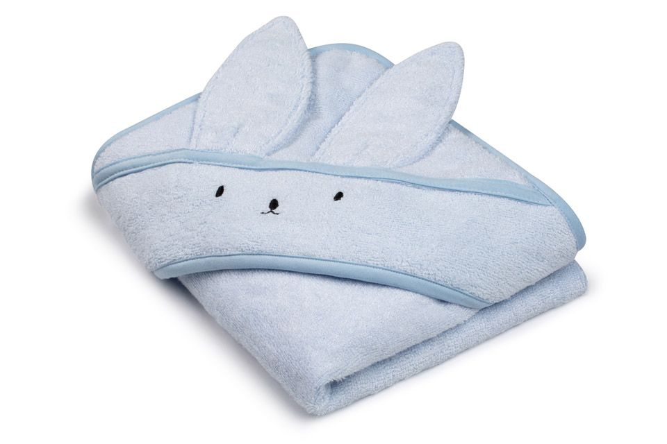 Bamboo Towel Baby Blue