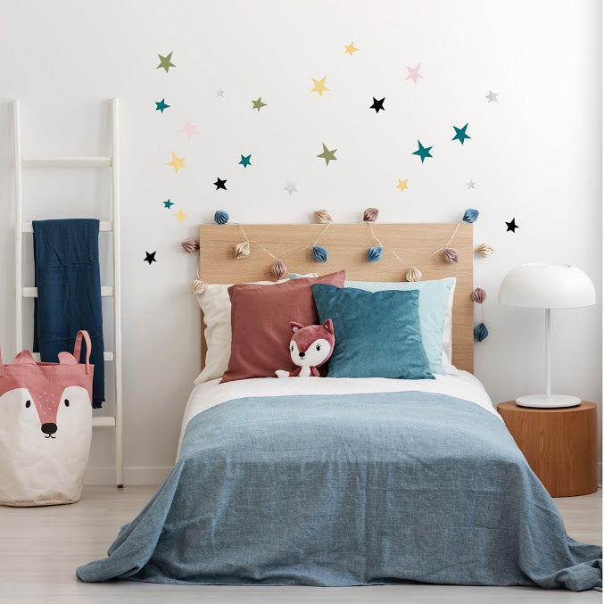 Irregular Stars Wall Stickers - Cosy