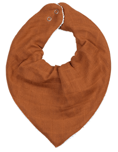 Bandana Bib - Single - Cinnamon
