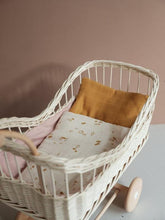 Wicker Doll Pram