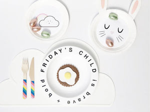 Wednesday's Child Plate
