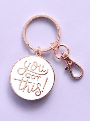 You Got This - Enamel Keyring